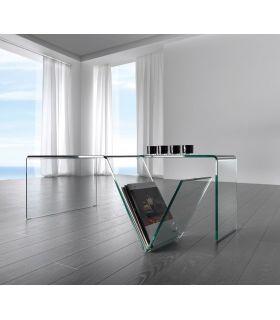 Comprar online Mesa de centro de cristal : Modelo MIRIUS