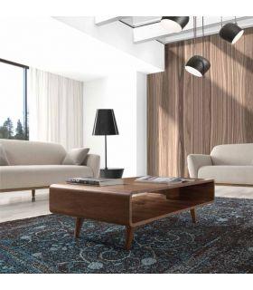 Comprar online Mesa de Centro en madera de Nogal : Modelo TERRA