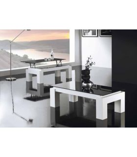 Comprar online Mesas elevables de madera y cristal : Modelo LUZ