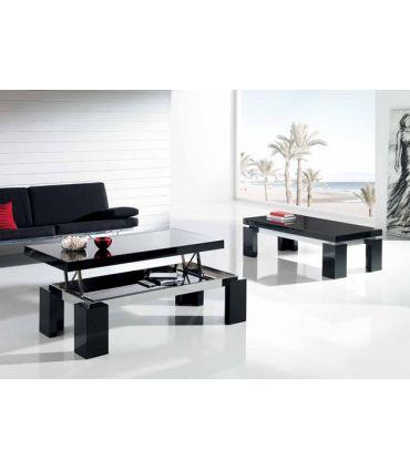 Mesas elevables de madera y cristal : Modelo PAT