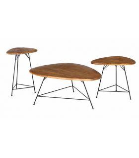 Comprar online Set de Mesa de centro de Teka : Modelo BERMUDA