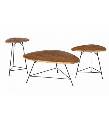 Set de Mesas de Centro de Teka : Modelo BERMUDA