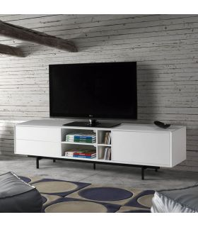 Mesa de Televisión con patas Metálicas : Modelo BEATRIZ