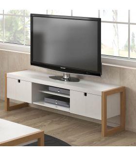 Comprar online Mesa de Televisión de Estilo Nórdico : Colección SQUARE Blanco