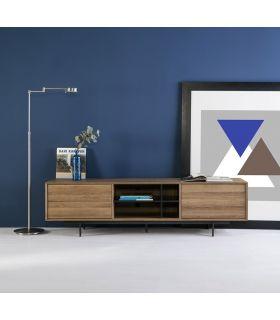 Comprar online Mueble de Televisión en Madera y Metal BEATRIZ Roble
