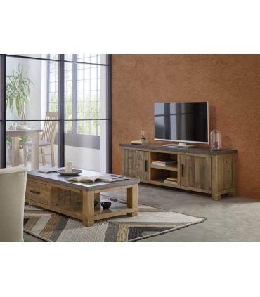 Mueble de TV en Madera de Pino : Colección TENNESSEE