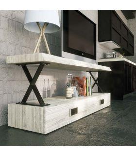 Comprar online Mesa de Televisión en Madera y Metal : Modelo XAIT