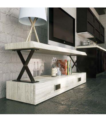 Mesa de Televisión en Madera y Metal : Modelo XAIT