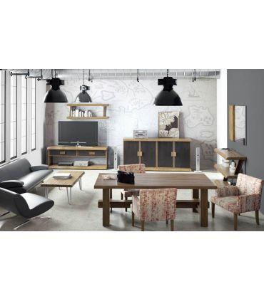 Mueble de Televisión en Madera y Metal : Modelo JENT
