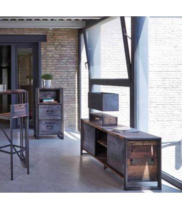 Mueble de Televisión de estilo Industrial : Modelo EDITO