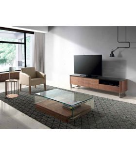 Comprar online Mesa de Televisión de Diseño en Madera : Modelo TRACER