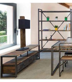 Comprar online Mesa de TV de estilo Industrial : Modelo EDITO