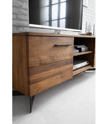 Mueble de TV en Madera de Roble : Colección OREGON