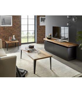 Comprar online Mueble de Televisión en Madera : Modelo BOSTON Negro