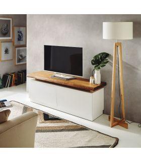 Comprar online Mueble de Televisión en Madera : Modelo BOSTON Blanco
