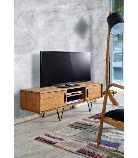 Comprar online Mesas TV de Madera Reciclada : Modelo LOKKEN