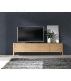 Comprar online Mueble de Televisión en Madera de Roble SILVIA