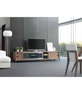 Comprar online Mesas de TV de madera : Modelo HELSINKI Nogal