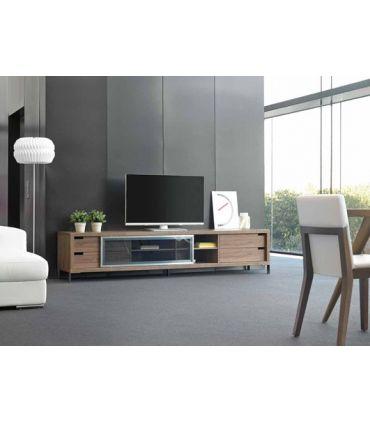 Mesas de TV de madera : Modelo HELSINKI Nogal