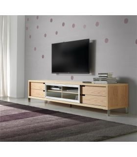 Comprar online Mueble de madera para Televisión : Modelo HELSINKI Roble