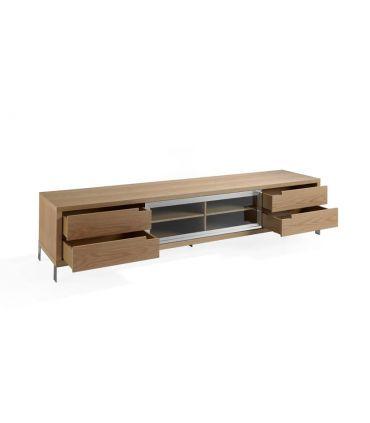 Mueble de madera para Televisión : Modelo HELSINKI Roble