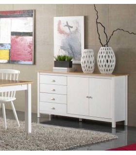 Comprar online Mueble Aparador de Comedor : Colección JADE Blanco