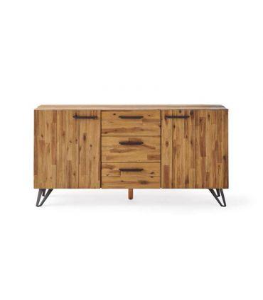 Aparador en madera natural de Acacia : Colección IRATI