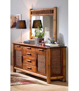 Comprar online Aparadores de Bambu y Rattan : Coleccion TROPICANA II
