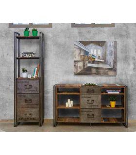 Comprar online Aparador Estantería de estilo industrial : Colección EDITO