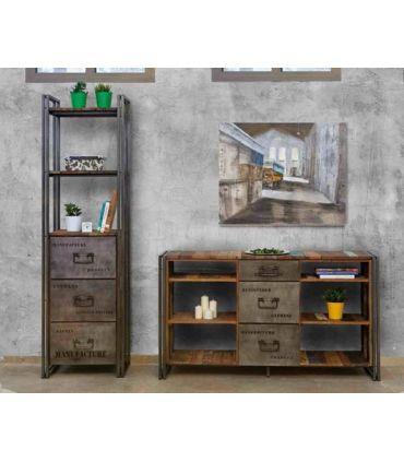 Aparador Estantería de estilo industrial : Colección EDITO