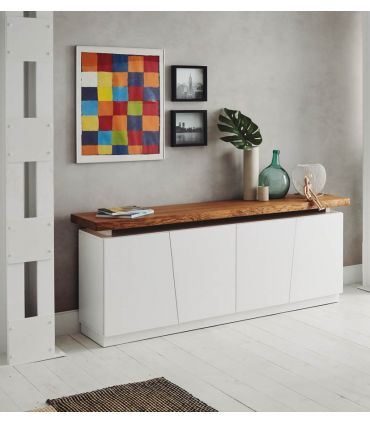 Buffet Aparador en Madera : Modelo BOSTON Blanco
