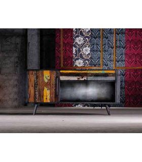 Comprar online Aparadores de Diseño Industrial : Coleccion NORDIC 4 puertas