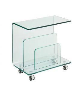Comprar online Revistero mesa Auxiliar de cristal : Modelo ALDRIN