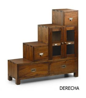 Comprar online Muebles Escalera Estilo Colonial : Colección FLAMINGO derecha