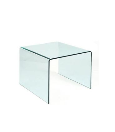 Mesitas Auxiliares Cuadradas de cristal : Modelo CHEVAL