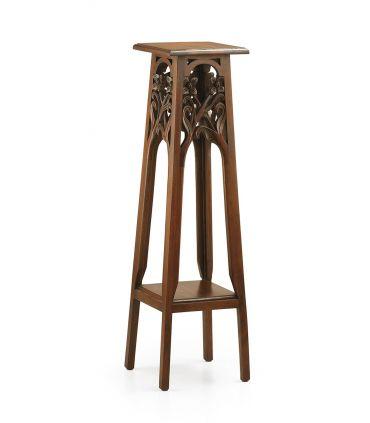 Pedestales de Caoba : Coleccion ANTONIETA