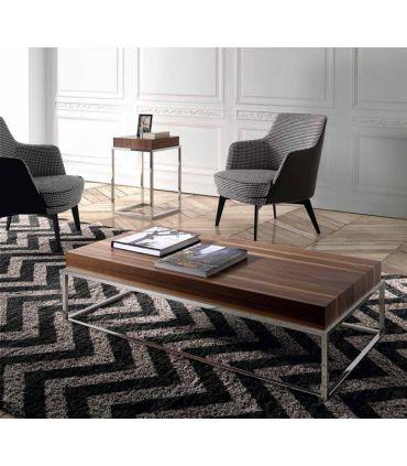 Mesa Rincón de madera y metal : Modelo MELISA