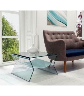 Comprar online Mesa Auxiliar de cristal templado : Modelo IRIS