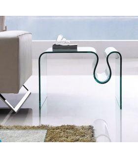Comprar online Mesa de rincón de cristal templado : Modelo CONCERTO