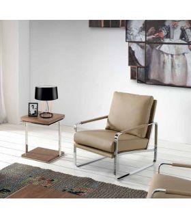 Comprar online Mesa Rincónera de madera y metal : Modelo SALONIA