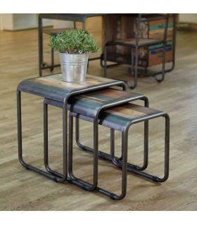Comprar online Mesas Nido de Diseño Industrial : Modelo RETRO