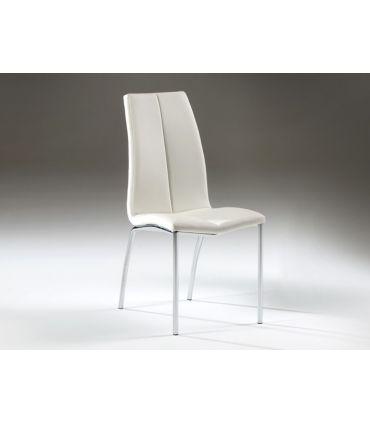 Sillas Modernas : Modelo MALIBU blanco