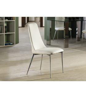 Comprar online Silla Tapizada en Blanco para Salón : Modelo OXFORD