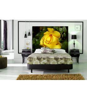 Comprar online Cabecero Retroiluminado : Modelo ROSA AMARILLA