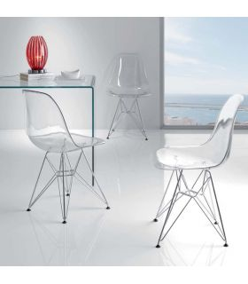 Comprar online Sillas Modernas de Diseño (Set 2 Unidades) : Modelo HELIKE