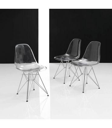 Sillas Modernas de Diseño (Set 2 Unidades) : Modelo HELIKE
