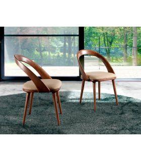 Comprar online Silla de madera de fresno tapizada : Modelo ARCADIA