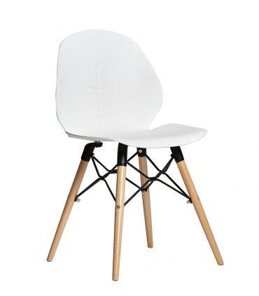 Set de 4 sillas en madera de Haya : Modelo NENUFAR