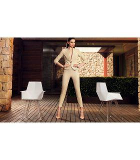 Comprar online Set de 4 Sillas de Diseño para ambientes de exterior e interior Modelo FAZ