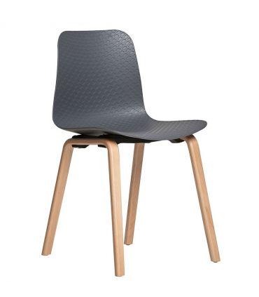 Set de 4 sillas en madera de Haya : Modelo KEIRA